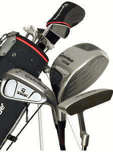 Win a junior set of Taylor Made Golf Clubs
